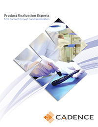 The cover of Cadence Device Brochure