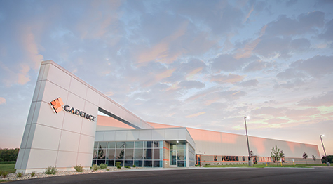 Cadence's new Wisconsin facility.