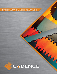 The cover of the Specialty Blades brochure.
