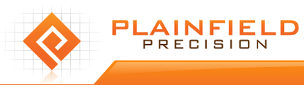 The Plainfield Precision logo.
